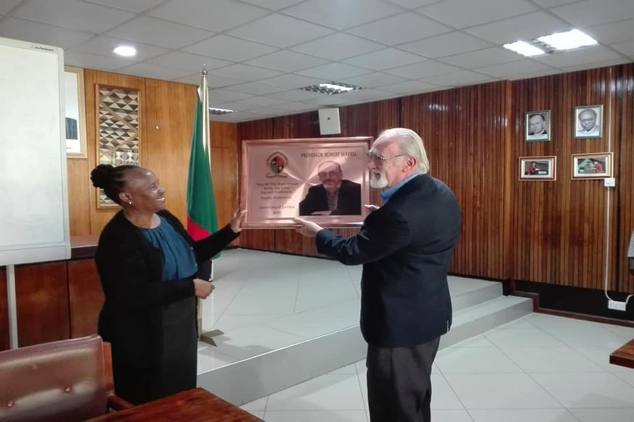 UNZA bids farewell to Professor Robert Serpell