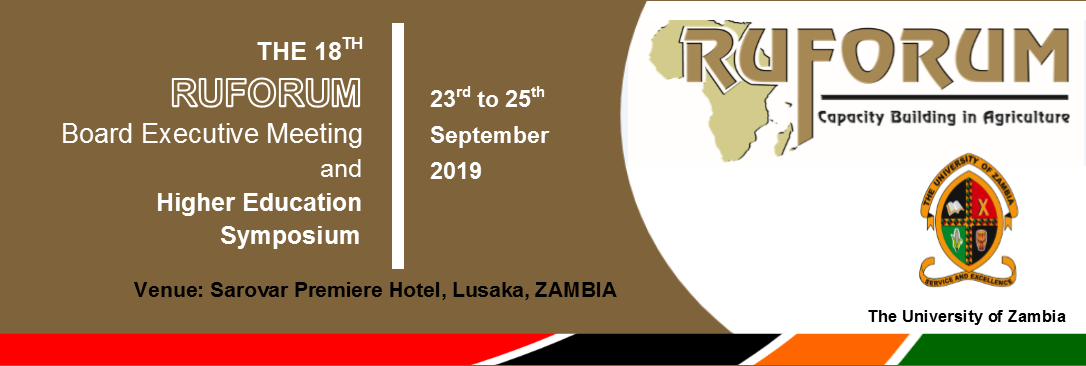 UNZA to host RUFORUM BOARD EXECUTIVE MEETING