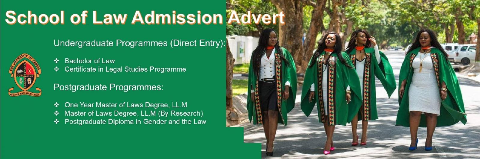 2019 Admissions Advert